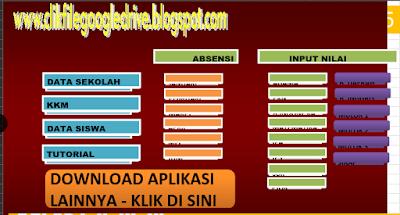 Aplikasi Penilaian Kurikulum KTSP SD/MI Semua Kelas