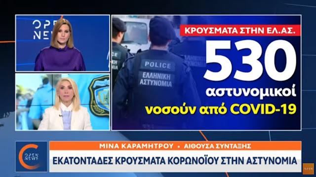 530 αστυνομικοί νοσούν από κορωνοϊό (βίντεο)