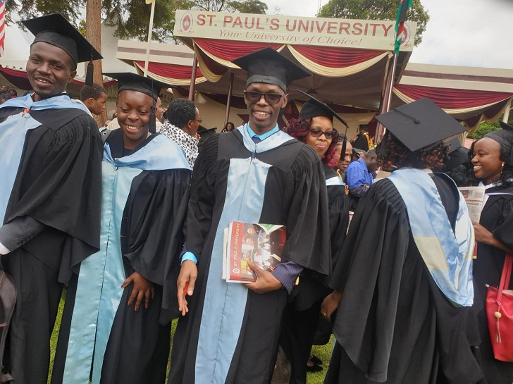 List of courses offered at St Paul University Kenya