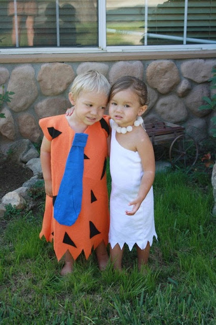 Fred and Wilma kids Costume