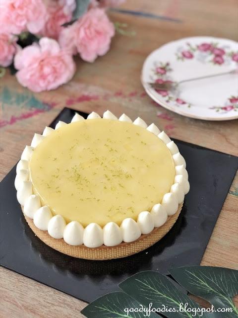 Lachér Patisserie - kochi yuzu mango tart