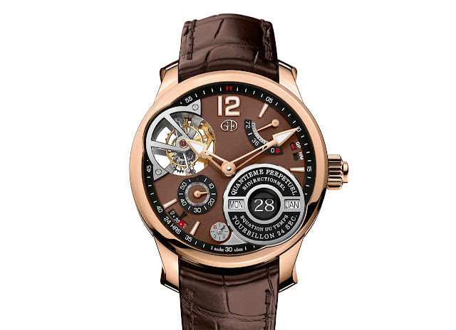 Greubel Forsey Equation of Time with chocolate dial