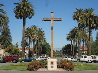 Mission Santa Clara de Asis cross