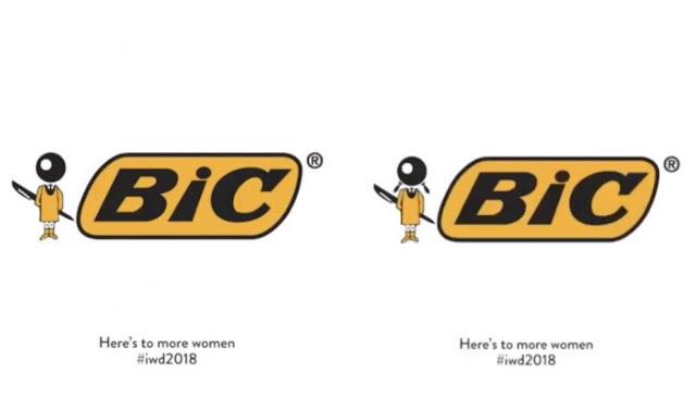 Así luce la marca BIC en su versión femenina