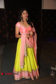 Actress Roshini Stills in Lehenga Choli at Saptagiri Express Audio Release  0266