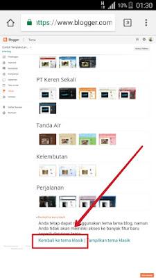 Cara Membuat Landing Page Dengan Blogspot