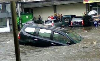 2.000 Orang Mengungsi Akibat Banjir Citarum di Bandung