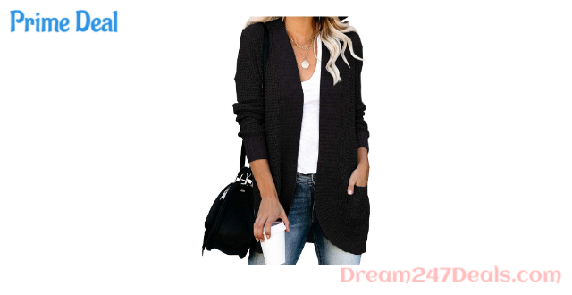 40% OFF Casual open front lightweight cardigan