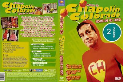 Série O Melhor do Chapolin Colorado Volume 2 DVD Capa