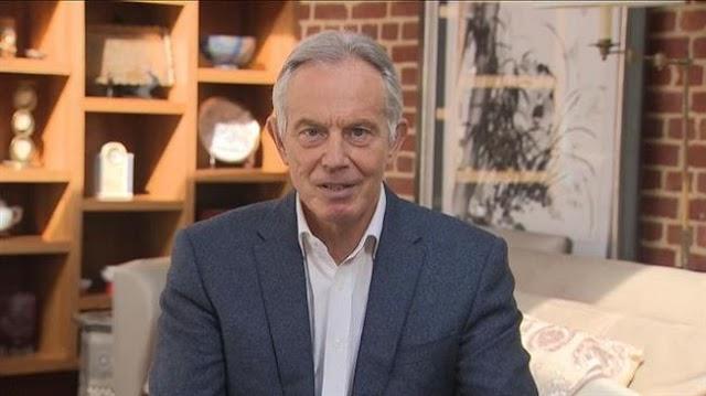 UK Former Prime Minister, Tony Blair proposes 'exit plan' for coronavirus lockdown dilemma