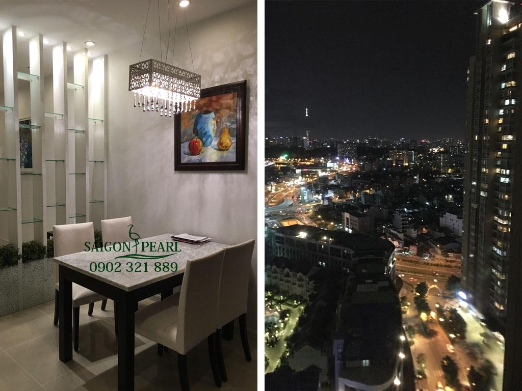 Saigon Pearl Topaz 1 cần cho thuê căn hộ 86m2 tầng cao giá tốt - hinh 9