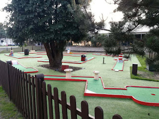 Mini Golf at the Haven Wild Duck Holiday Park in Norfolk. Photo by Karl Moles, June 2019
