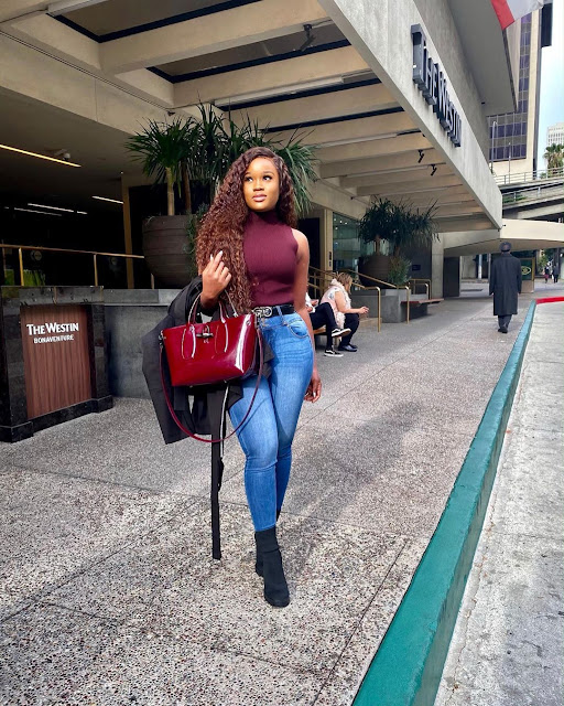 BB Naija 1st Runner Up, CeeC Leaves the House in Style