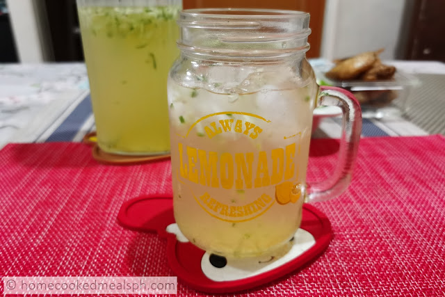 lemonade, lemon, cooler, juice, cucumber lemonade juice, easy recipe, merienda recipes, summer