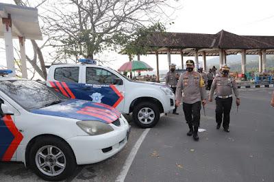 Kapolda NTB Inspeksi Mendadak di Wisata Senggigi