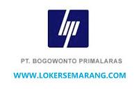 Lowongan Kerja Semarang Kepala Bagian Sales Export di PT Bogowonto Primalaras