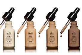 nyx Total Control Pro Drop Foundation - New Improved Version
