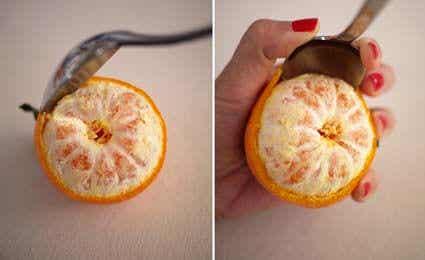 Cách làm nến thơm bằng vỏ cam