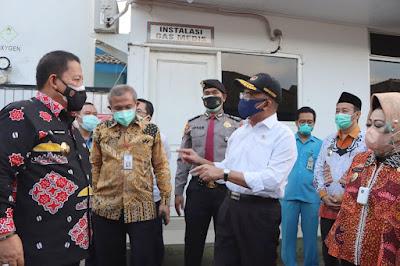 Inisisasi Pemenuhan Ketersediaan Oksigen Medis, Gubernur Arinal di Apresiasi Menko PMK RI