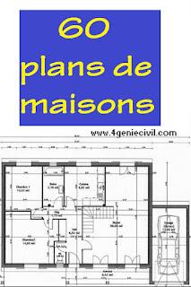 Exemples de plans de maison moderne gratuit à telecharger pdf | Cours génie civil - Outils ...