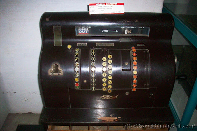 GD Naidu Science Museum Industrial Exhibition Vintage Early Cash Register