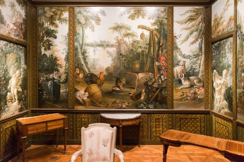 Salon Demarteau  Crédit : Jean-Baptiste Gurliat / Ville de Paris