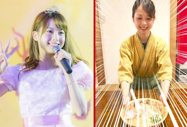 Anggota AKB48, Mayuka Umezawa, 'Banting Setir' Jualan Mie Ramen!