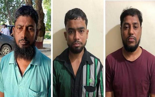 जम्मू कश्मीर के pulwama  में 3 आतंकवादी सुरक्षा बलों के साथ मुठभेड़ में मारे गए।