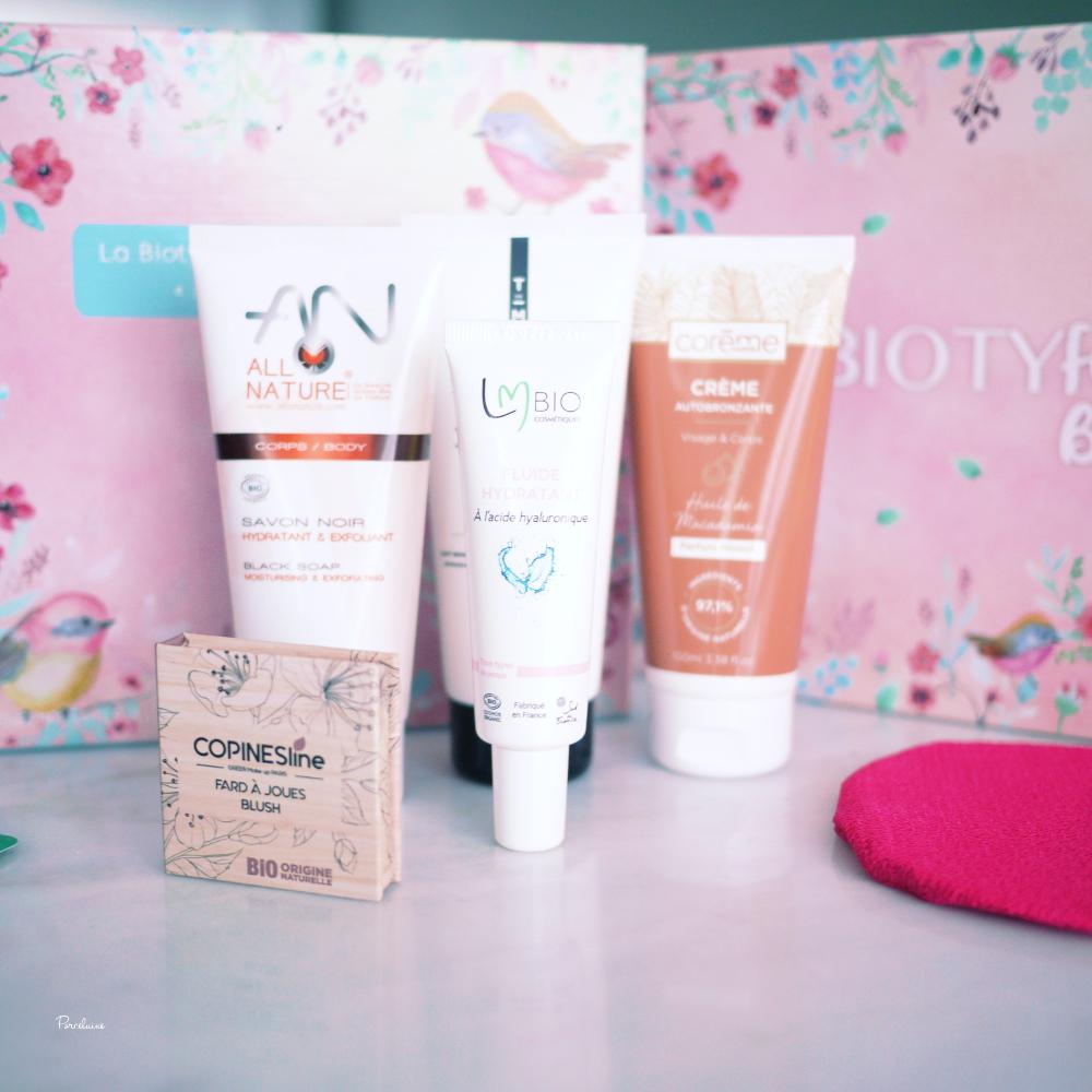 Bonne mine : La Biotyfull Box d'Avril