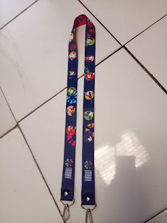 Tali lanyard asian para games