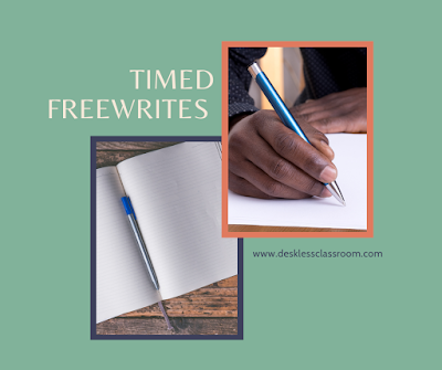 Timed Freewrites