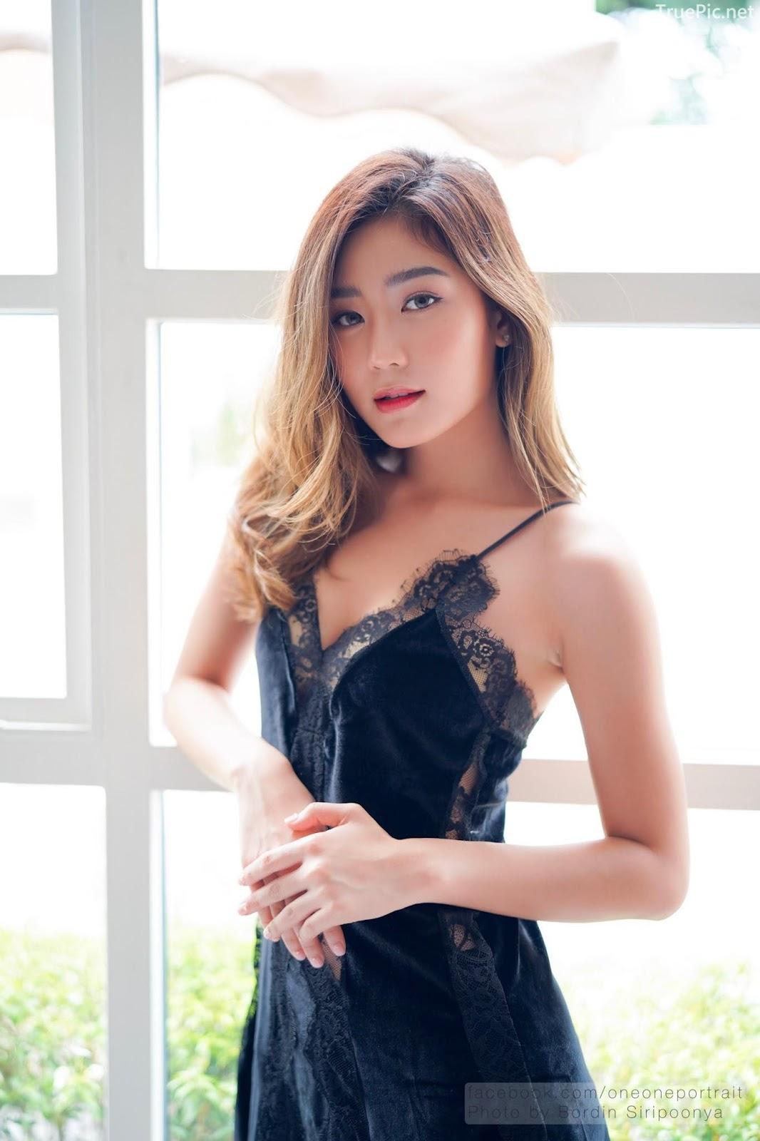 Thailand hot model Pattaravadee Boonmeesup vs Photo album Black Magic Sleepwear - Picture 2