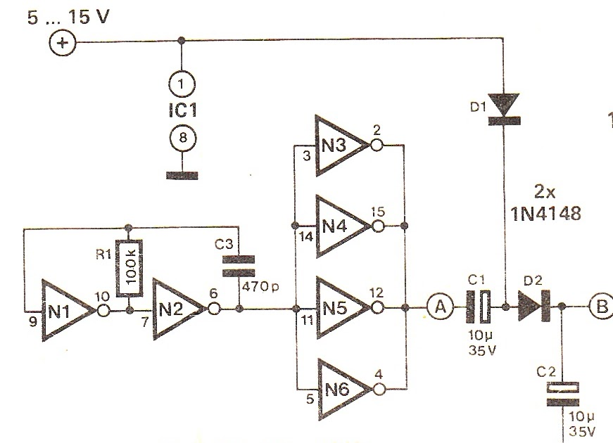 Circuit Wiring Solution: DC Voltage Doubler Circuit Explained