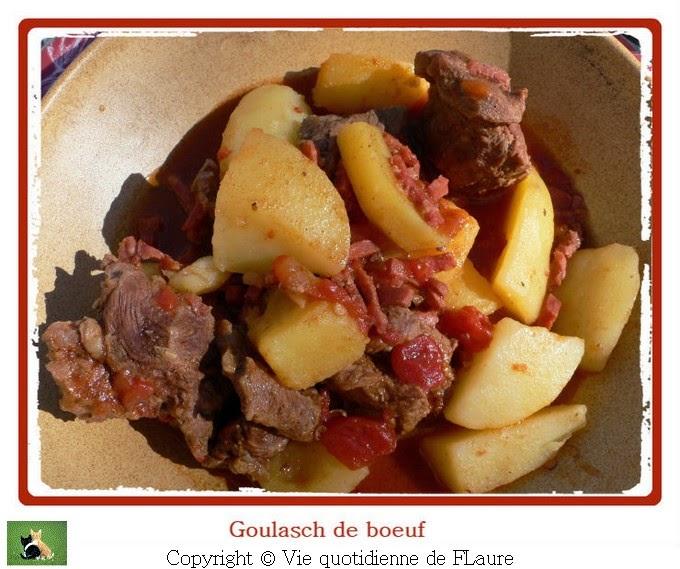 Vie quotidienne de FLaure: Goulasch de bœuf