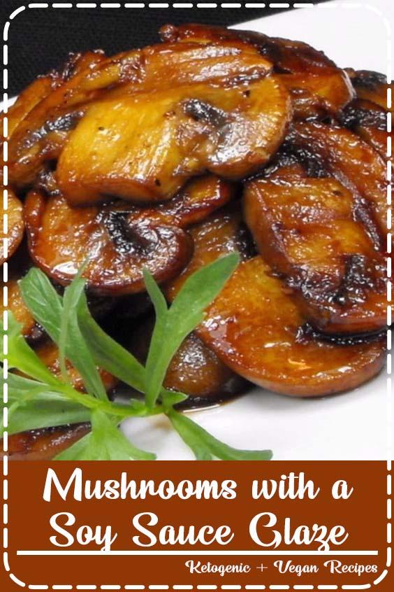 Soy Sauce Braised Wild Mushroom Noodles | Recipe | Stuffed