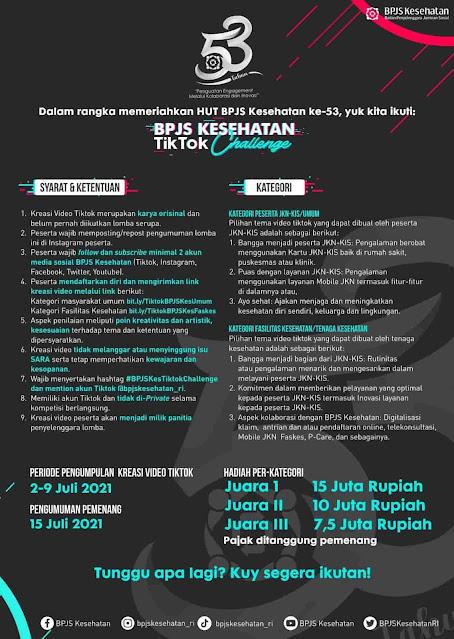 BPJS Kesehatan TikTok Challenge.