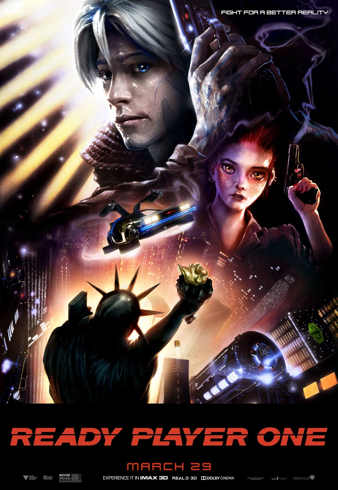 Ready Player One (2018) Dual Audio Hindi 450MB BluRay 480p ESubs Download