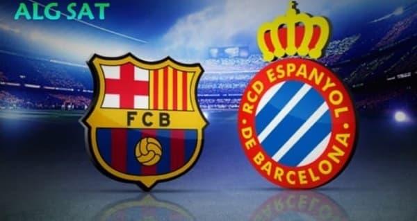القنوات الناقلة لمباراة برشلونة ضد إسبانيول اليوم ,الجولة 19 من الدوري الاسباني