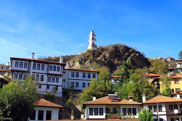 Bolu'nun sakin şehri Göynük, 700 yıllık Osmanlı yapılarına sahiptir.
