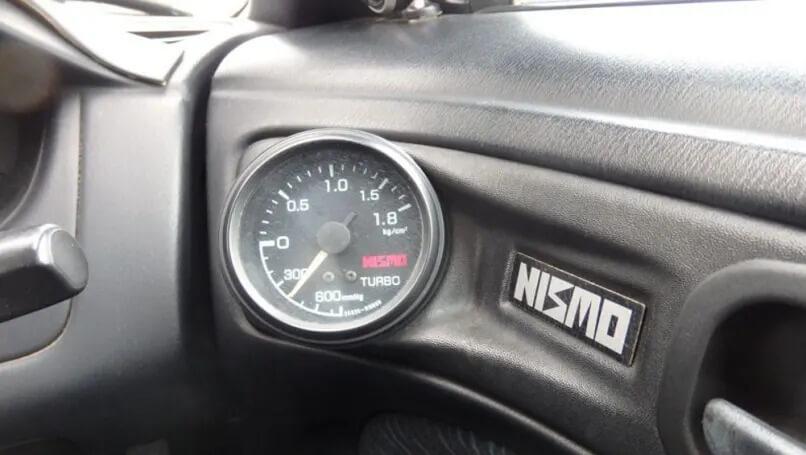 Nissan Silvia 270R Nismo Turbo Gauge