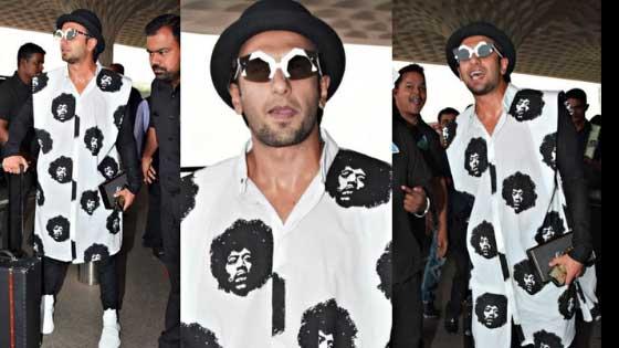 Five Times Ranveer Singh Slew The Airport Look
