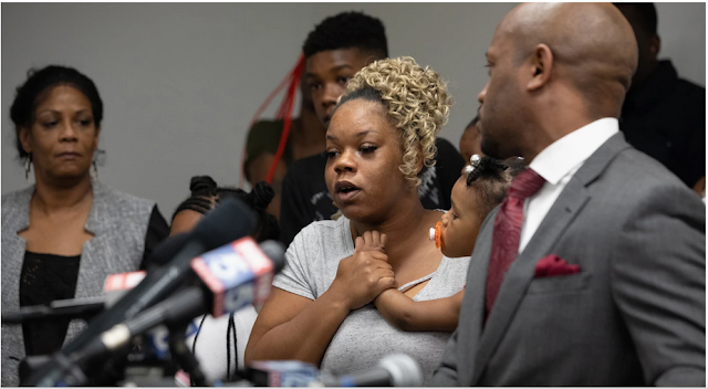 Family of Rayshard Brooks pleaded for justice and change Monday