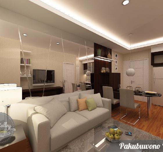 Desain Interior Pakubuwono Terrace