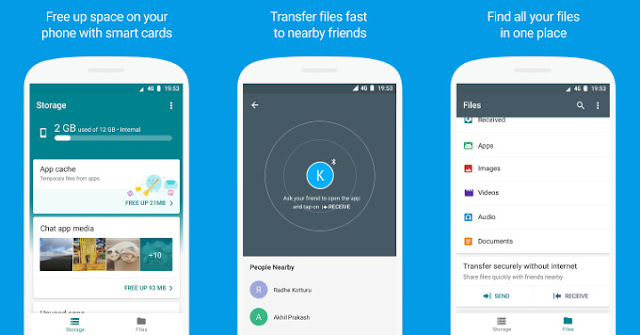 Google File Go Beta by T4SK M4STER