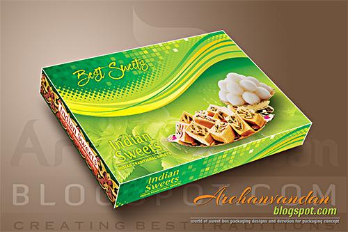 indian sweet box design pattern 2