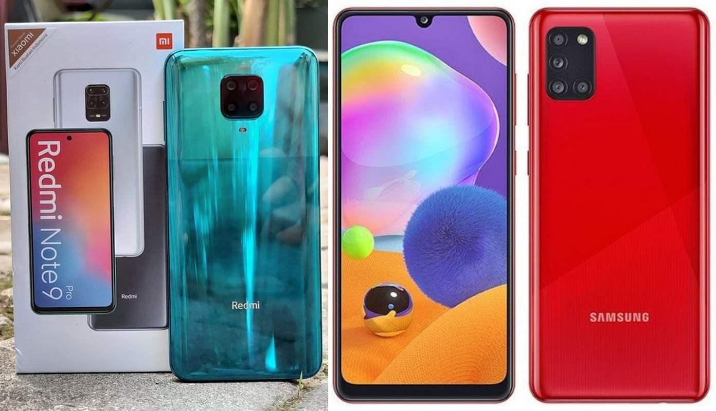 Xiaomi Redmi Note 9 Pro vs Samsung Galaxy A31: Duel Smartphone NFC Kelas Menengah