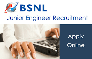 BSNL Junior Engineer Recruitment 2016