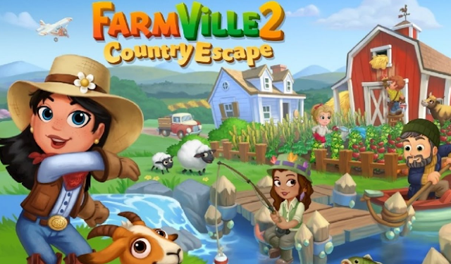 FarmVille 2 Mod Apk Terbaru Gratis (Unlimited Keys)