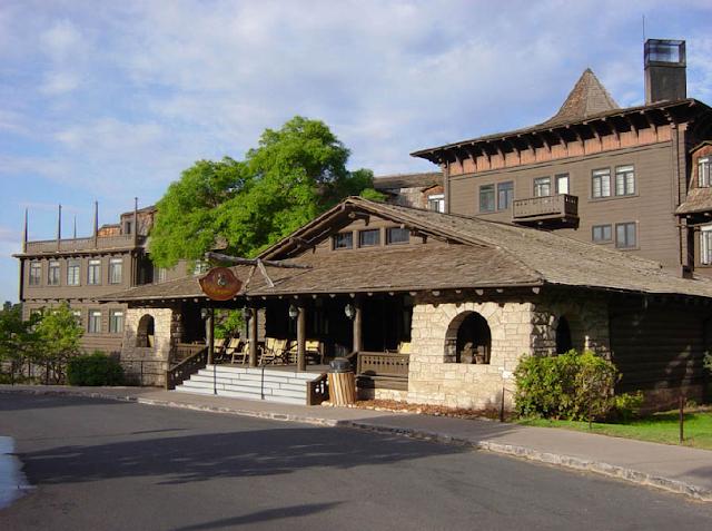 Hotel El Tovar no Grand Canyon
