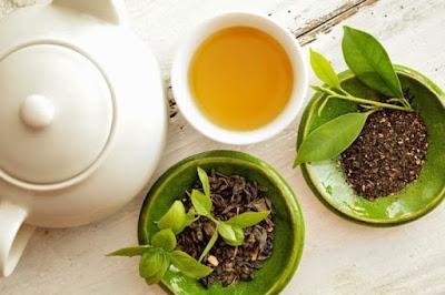 lá trà xanh